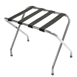 CSL Flat Top Series Metal Luggage Rack w/ Black Straps Zinc 6 Per Case Price Per Each