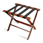 CSL American Hardwood Series Luggage Rack w/ Black Straps Dark Oak 3 Per Case Price Per Each