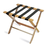 CSL American Hardwood Series Luggage Rack w/ Black Straps Light Oak 3 Per Case Price Per Each