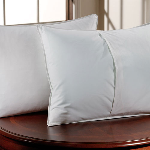 Downlite T-200 Envelope Closure Pillow Protector Standard 20x26 100% Cotton 12 Per Case Price ...