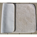 Faze 3 Bleach Armour Bronze Cotton Bath Rugs w/ Latex Back 17x24 Natural 12 Per Case Price Per Each