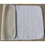 Faze 3 Bleach Armour Bronze Cotton Bath Rugs w/ Latex Back 17x24 White 12 Per Case Price Per Each