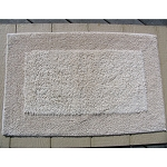 Faze 3 Canyon Spa & Bath Outside Loop Border Cotton Bath Rug 17x24 Natural 12 Per Case Price Per Each