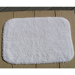 Faze 3 Cotton Soft Touch Bath Rug 17x24 White 12 Per Case Price Per Each