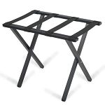 Forbes Steel Luggage Rack w/ Rectangular Tube Painted Textured Black 5 Per Case Price Per Each