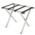 Forbes Steel Luggage Rack w/ Rectangular Tube Painted Brushed Stainless Steel 5 Per Case Price Per Each