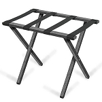 Forbes Steel Luggage Rack w/ Rectangular Tube Painted Silver Vein 5 Per Case Price Per Each