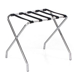 Forbes Extra Wide & Extra Tall Steel Luggage Rack Painted 6 Per Case Price Per Each