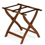 Forbes Contoured Solid Oak Luggage Rack 4 Per Case Price Per Each