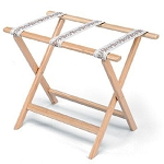 Forbes Straight Solid Oak Luggage Rack 5 Per Case Price Per Each