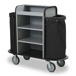Forbes Alumunique Houskeeping Cart w/ 6.5