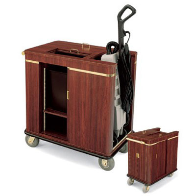 Forbes Furniture Style Lobby Cart Finished In High