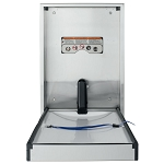 Foundations Legacy Vertical Stainless Steel Changing Station Recessed or Surface Mount