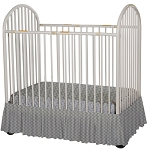 Foundations Bare is Best™ Full Size Crib Dust Ruffle Sahara 3 Per Case Price Per Case