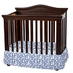 Foundations Bare is Best™ Compact Crib Dust Ruffle Geo Paisley 3 Per Case Price Per Case