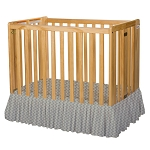 Foundations Bare is Best™ Compact Crib Dust Ruffle Sahara 3 Per Case Price Per Case