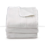 Foundations Thermalux™ 100% Acrylic Baby Blankets Fits All Portable Compact & Full-Size Cribs White 6 Per Case Price Per Case