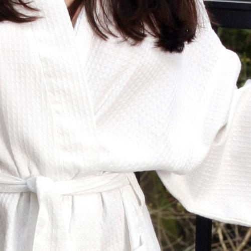 45c08fb5cc Ganesh Kimono Waffle Weave Bathrobe 48x60 100% Preshrunk Premium Cotton 12  Per Case Price Per Each