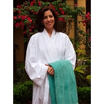 Ganesh Kimono Terry Bathrobe 48x60 100% Ringspun Cotton 12 Per Case Price Per Each