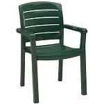 Grosfillex Acadia Stacking Armchair Amazon Green 12 Per Case Price Per Each