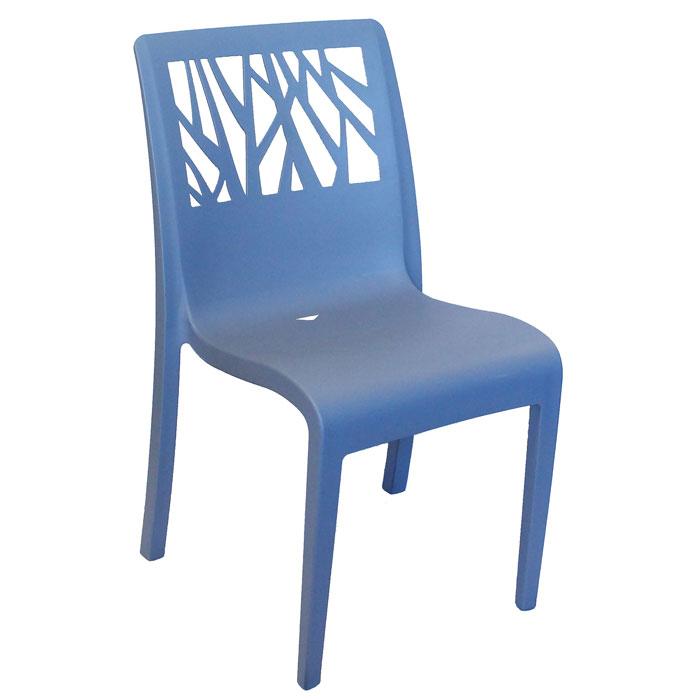 Exceptionnel Home U003e Outdoor Furniture U003e Grosfilex Vegetal Stacking Chairs Denim Blue 16  Per Case Price Per Each