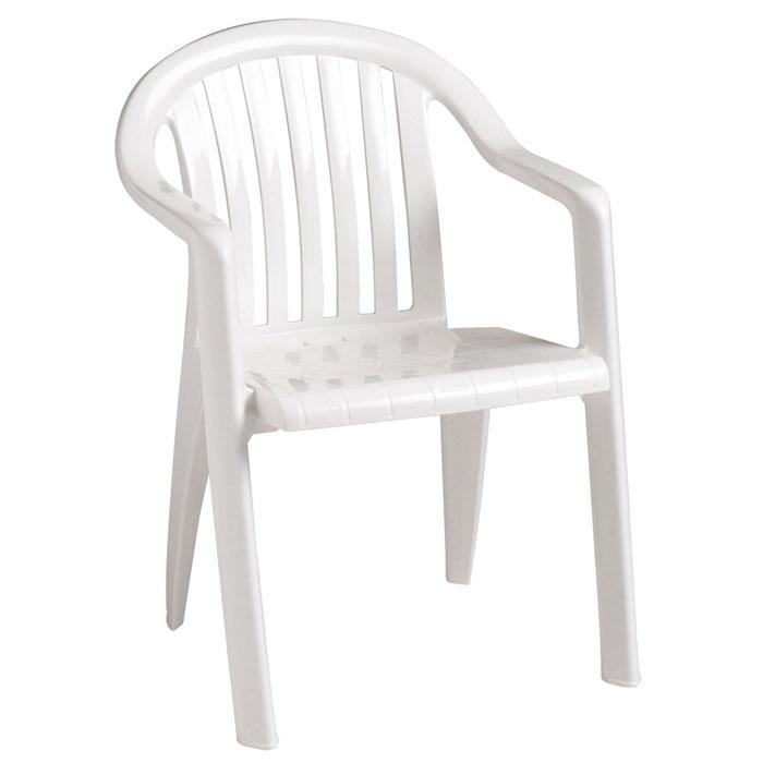 grosfillex miami lowback stacking armchair white 16 per case price