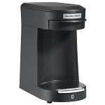 Hamilton Beach Commercial HDC200B 1 Cup Pod Coffee Maker w/ ASO Black 6 Per Case Price Per Each