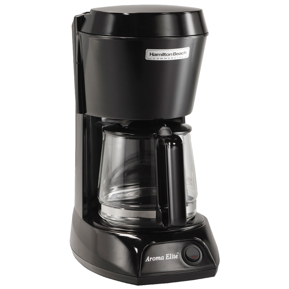 Hamilton Beach Commercial HDC500C 4 Cup Coffee Maker w/ Swing OutLift Off Brew Basket Black w ...