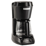 Hamilton Beach Commercial HDC500C 4 Cup Coffee Maker w/ Swing OutLift Off Brew Basket Black w/ Glass Carafe 6 Per Case Price Per Each