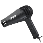 Hamilton Beach Commercial HHD601 1875 Watt Hand Held Tourmaline Hair Dryer w/ Retractable Cord & Folding Handle Dark Grey 6 Per Case Price Per Each