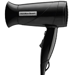 Hamilton Beach Commercial HHD610 1600 Watt Hand Held Hair Dryer w/ Concentrator Black 6 Per Case Price Per Each