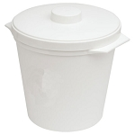 Hapco 3 Qt. Round Plastic Ice Bucket w/ Handle 36 Per Case Price Per Case