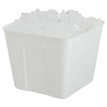Hapco 3 Qt. Square Plastic Ice Bucket No Handle 36 Per Case Price Per Case