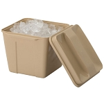 Hapco 3 Qt. Square Plastic Ice Bucket w/ Handle 36 Per Case Price Per Case