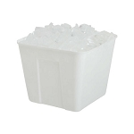 Hapco 1.5 Qt. Square Plastic Ice Bucket No Handle 36 Per Case Price Per Case