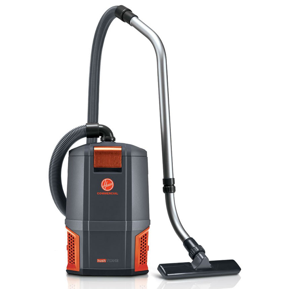 Hoover CH34006 Hushtone 6 Qt Backpack Vacuum