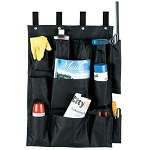 Hospitality 1 Source 12 Pocket X DUTY™ Housekeeping Caddy Bags 21x32 Black 5 Per Case Price Per Each
