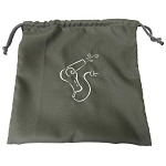 Hospitality 1 Source Hair Dryer Bag w/ Dark Gray/Light Gray Embroidery 10 Per Case Price Per Each