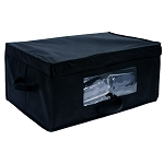 Hospitality 1 Source Non-Woven Blanket Box Black 20 Per Case Price Per Each