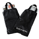 Hospitality 1 Source Newspaper Bag w/ Black/White