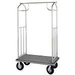 Hospitality 1 Source Transporter Series Bellman's Carts Chrome Finish