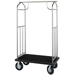 Hospitality 1 Source Transporter Series Bellman's Carts Powder Coat Hammertone Finish