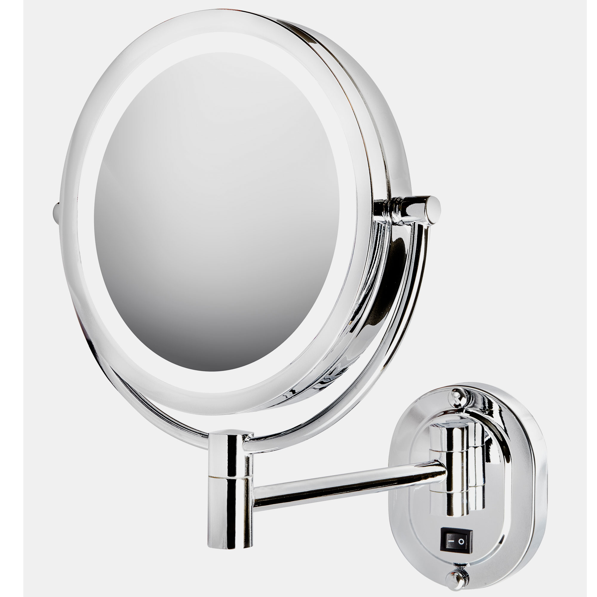 Jerdon Hl165cld 8 Quot Led Lighted Wall Mount Mirror Extends