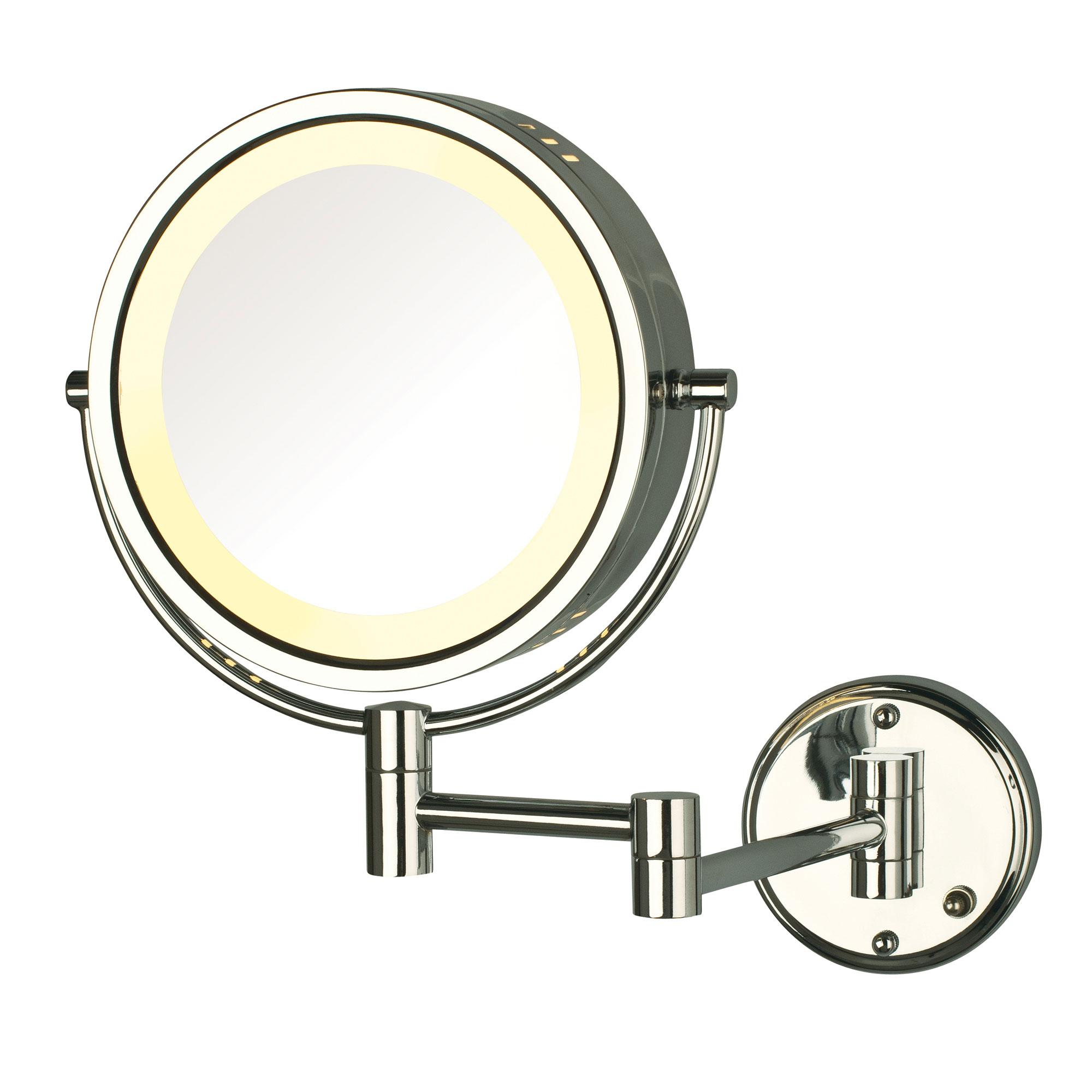 Jerdon Hl75cd 8 5 Quot Lighted Wall Mount Mirror 1x 8x