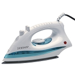 Jerdon J513W Mid Size Iron w/ 9' Cord Dual Auto Off White 6 Per Case Price Per Each