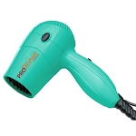 Jerdon JHD71T ProVersa 1600 Watt Hand Held Micro Turbo Hair Dryer 2 Speeds/2 Heat Settings Teal 6 Per Case Price Per Each