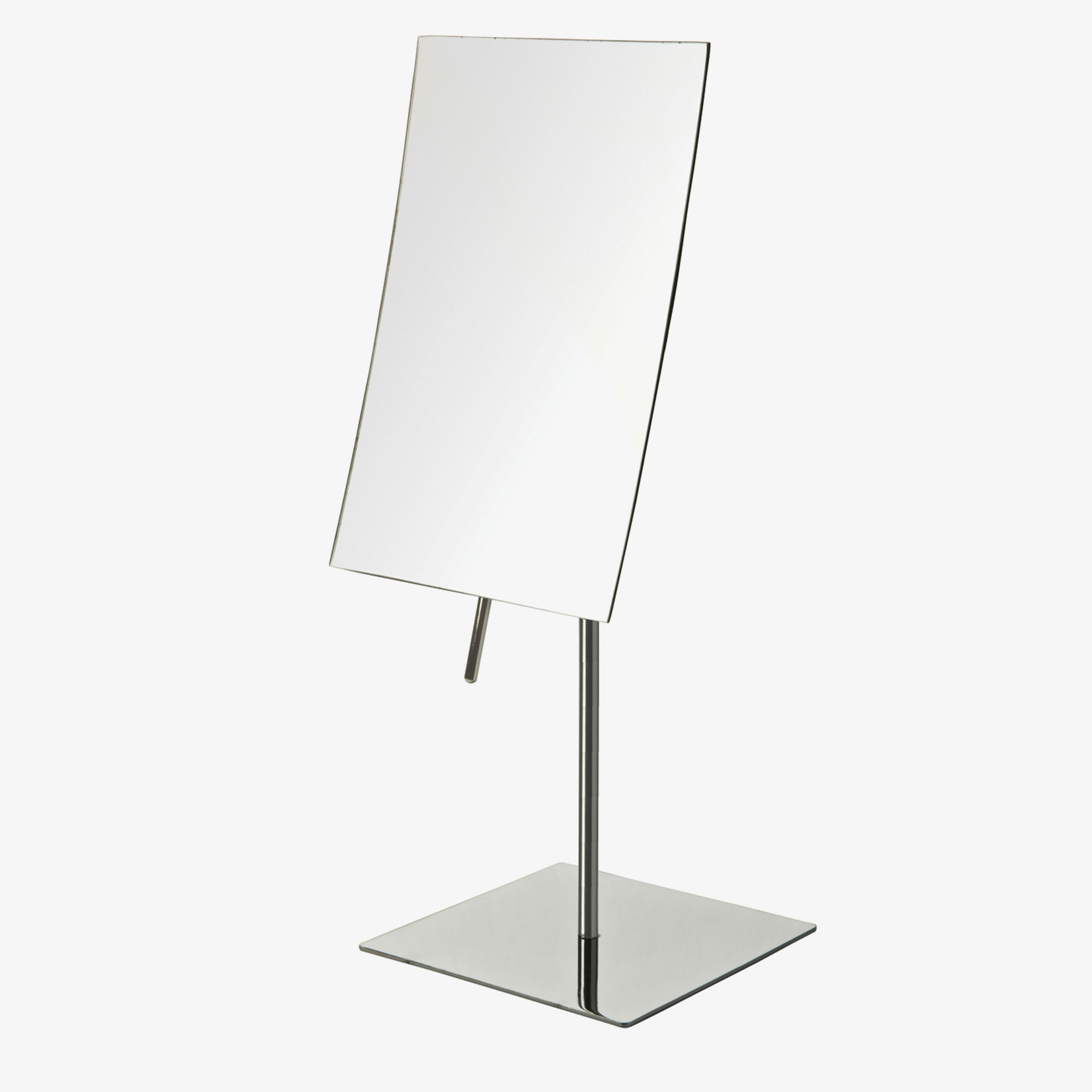Jerdon Jp358c Rectangular Non Lighted Tabletop Mirror 3x