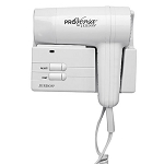 Jerdon JWM5CF ProVersa 1500 Watt Wall Mount Hair Dryer 2 Speeds/3 Heat Settings White 6 Per Case Price Per Each