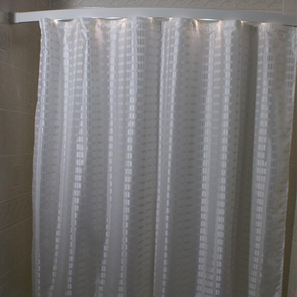 Kartri Dynasty Polyester Shower Curtain W Sewn Eyelets