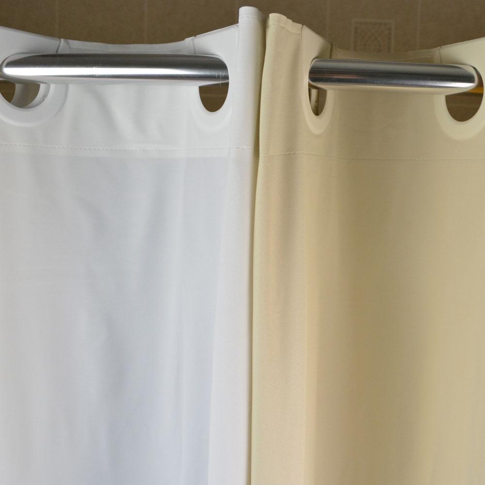 Kartri Ezy Hang 8 Gauge Vinyl Shower Curtain 42x74 White 12 Per Case Price Each